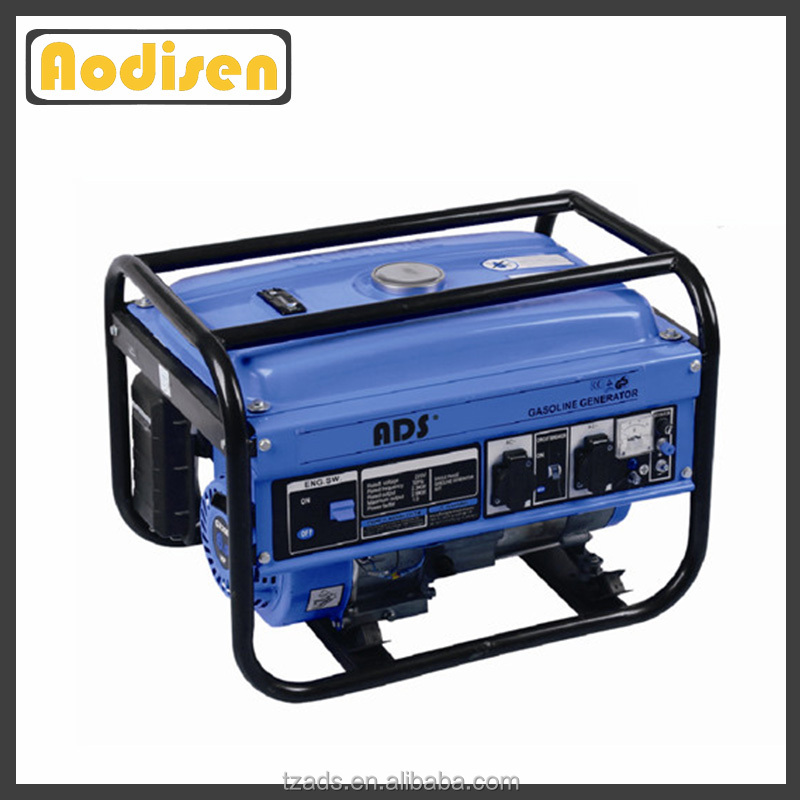 best quality home use iso 9001 4 stroke 2kw portable gasoline generators