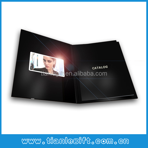 Popular 4.3inch lcd video screen module for greeting cards, video greeting module