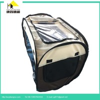 Fold-able Pet flexible House Carriers Cages