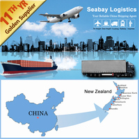 Professional shipping agents service from china to new zealand