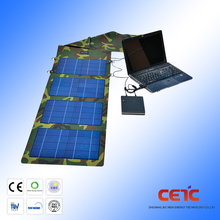 2017 newest USB output fabric foldable solar panel charger 40w for cellphone