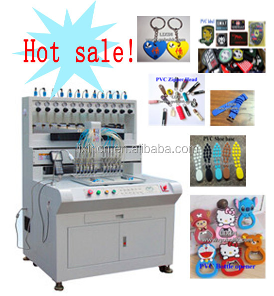 high precision pvc machine/production line for shoes 12 colors factory price