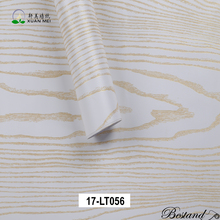 White color wood grain pvc lamination film wholesale laminator foil