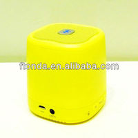 2013 newest, hot selling, Colorful, good quality, AUX, apply to PC,mobile phone,mp3 , mini hands free call bluetooth speaker