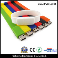 2017 best sellers Wholesale Alibaba promotional Custom logo Cheap bulk 1gb usb flash drives silicone usb bracelet