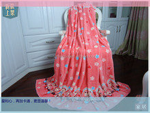 thermal slimming polyester throw blankets