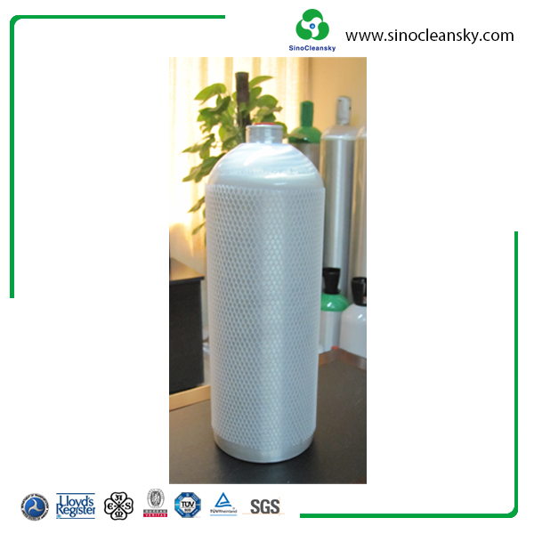 2Liter Seamless Aluminium Alloy SCUBA Diving Gas Cylinders