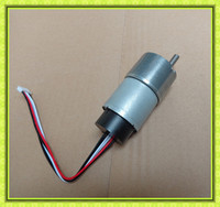 6mm shaft 37mm gearbox high torque low rpm 12v geared dc motor with encoder