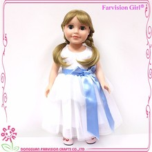Girl Playing 18 inch glamour doll hot sell china toy dolls