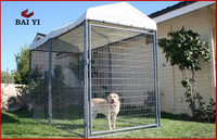 Large Steel Breeding Dog Cage and Used Outdoor Dog Fence Panel