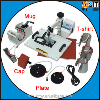 2016 hot selling most competitive price used for mug t-shirt plate 29x38cm 38x38cm 8 in 1 heat press printing machine