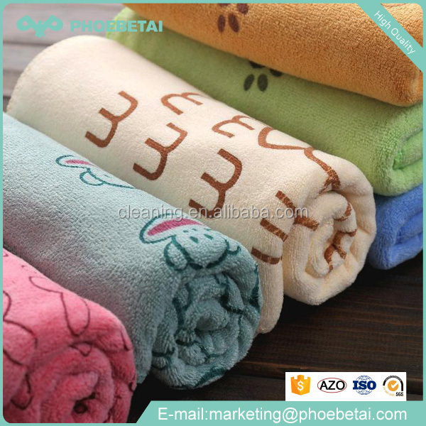New Product 40.64*45.72cm custom print microfiber cleaning cloth Exporter