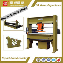 China Quality Made Auto-feeding Traveling Head Cutting Press Shoe Factory Equipment