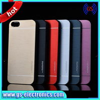 Wholesale Metal Colorful design armor case, Motomo for iPhone