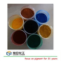 pigments 95% fine fe2o3 iron oxide red yellow black powder for paint/paver/brick/concrete color