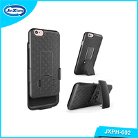 plastic mobile phone belt clip holster shell case for iphone 6s