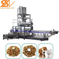 2018 New Design double screw extruder dog cat fish bird animal pet food extruder making machine production processing line