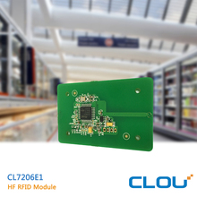 CL7206E1 HF nfc rfid fingerprint reader module