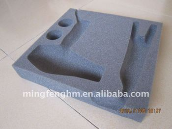 Positioning Black Foam Packing Sponge for protect products