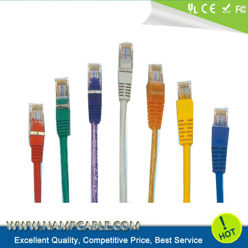 UL Listed CAT 6A SSTP Network Patch Cord from Guangdong Manufacturer Asia Source All Lengths and Colors Optional