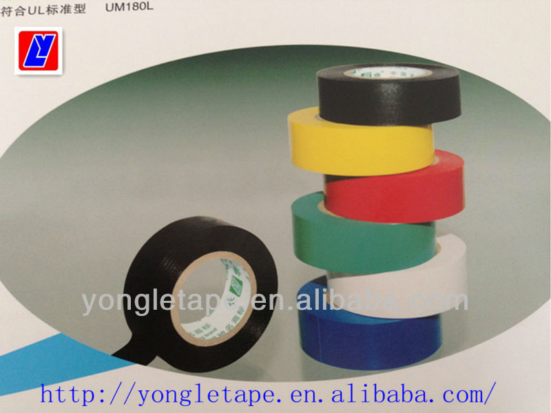 shiny pvc electrical tape/style Temflex General Purpose Vinyl Electrical Tape/UL and CSA requirements approved pvc tape