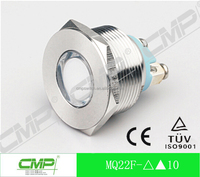 CMP 22mm metal waterproof 12v led waterproof deck light(TUV CE)