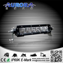 moderate in price high power 6inch 30W single row led lights for trailers