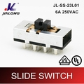 UL VDE CE 8pins power AC slide switch