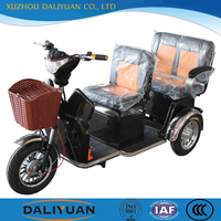 adult motorized tricycle in india for passenger seat