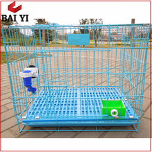 Two Doors aluminum Folding Wire Dog Cage With Low Price