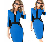 Fashion Womens Summer Fall Wear to Work Office OL Bodycon Midi Pencil Dresses