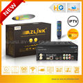 Youtube media player with VLC streamer and DVB-S2 support wifi PVR with turbo 8PSK build in LINUX HD sattellite TV receiver