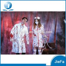 Adult Ladies Horror Zombie Women Sexy Halloween Bloody Nurse Cosplay Costume Scary Nurse Costume