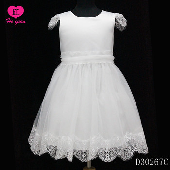 D30267C Latest Children Classic Flower Girls Dresses Design for Teenager Girl