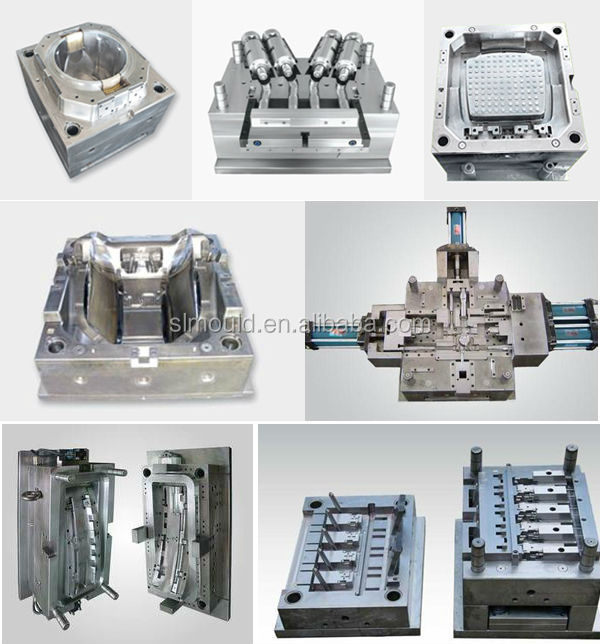 Plastic mold injection molding
