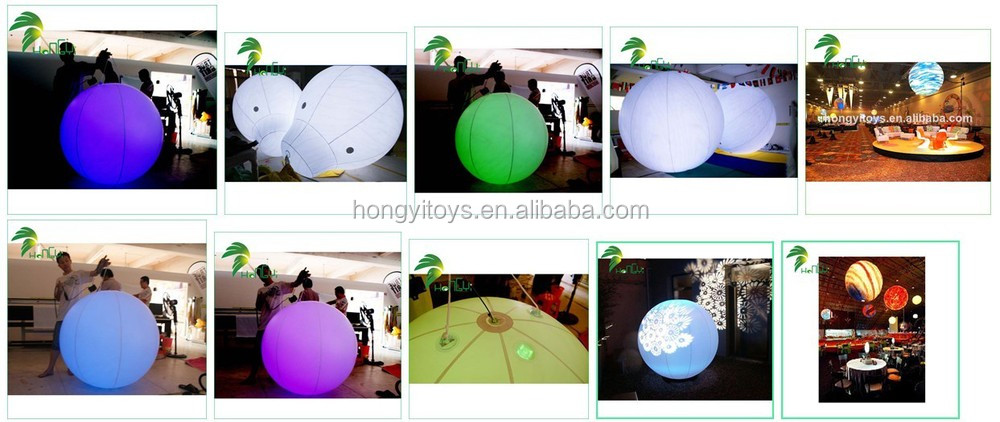 2014 latest fashion product printing inflatable glow sticks