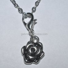 high quality classical hot sale flower floating dangle charms.