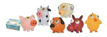 hot sale lovely cartoon farm pop eye animal toy for baby