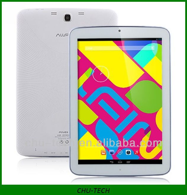 Allfine Fine9 Glory 3G Tablet PC RK3188 Quad Core 9.0 Inch IPS Screen Android 4.2 2GM RAM 32GB GPS WCDMA Monster Phone