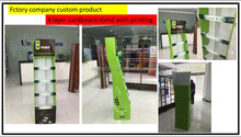 UNISO online shop factory custom retail shop portable advertising dump bin display with screen printing
