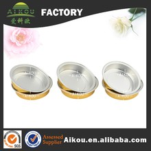 Heat sealing small airtight honey packaging containers with foil lid