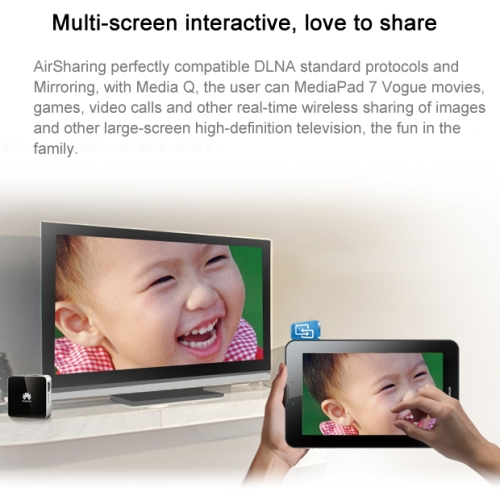 Original Huawei S7-601U / MediaPad 7 Vogue 7.0 Inch IPS Screen Android 4.1 3G Phone Call Tablet PC