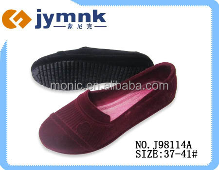 2015 JYMNK 114 PVC PCU Flocking Women Shoes Casual Slip-on Sandals