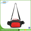 Unisex Cycling Waist Bag With Bottle Holder
