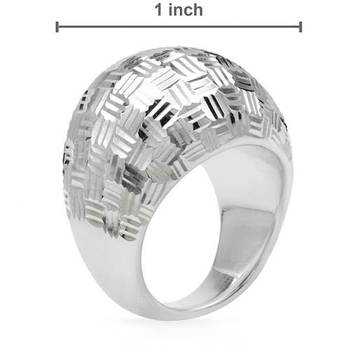Wholesale Custom Jewelry Blanks Titanium 316L Stainless Steel Silver Men'S Rings For Men ZZR103