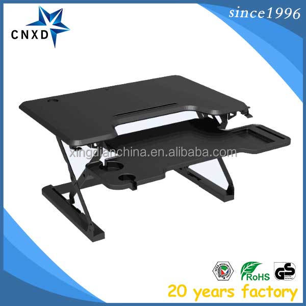 Multi functional computer table movable standing desk