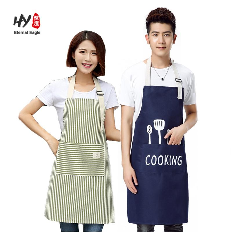 Canvas apron kids with two pockets