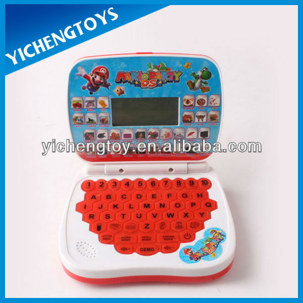 kids educational toy mini book laptop computers