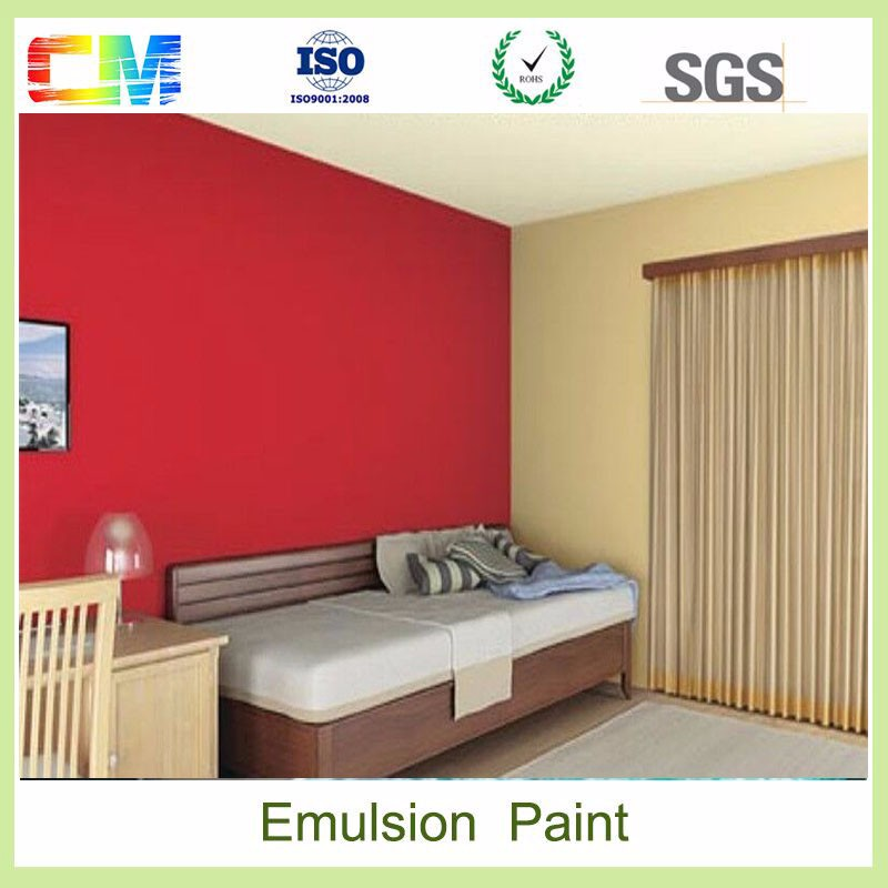 Wall drawing acrylic polymer paint designs for bedrooms interior emulsion paint with high quality