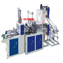 AQHQ-800 Full Automatic Plastic Film Vest Bag Making Machine